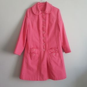Vintage pink swing trench M